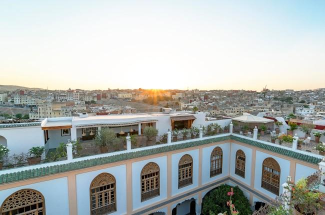 sunrise over Fez
