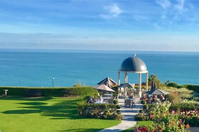 Hydro hotel views to sea