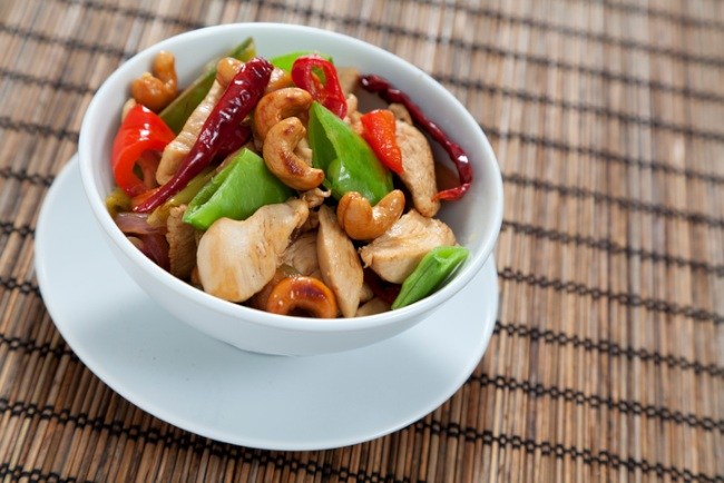 stir fry with cashew nuts