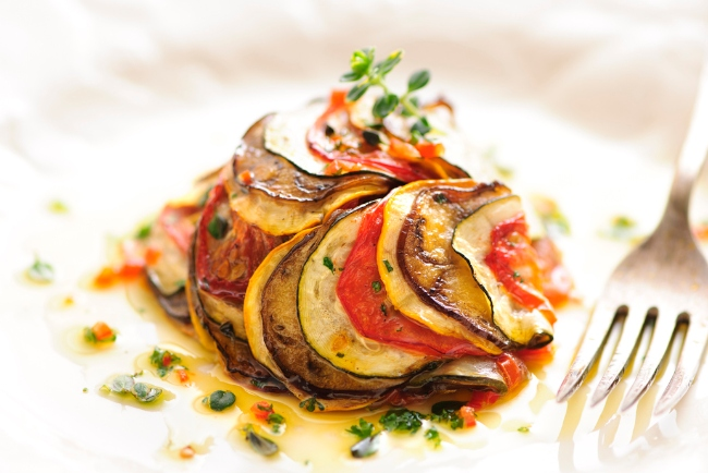 Ratatouille with olive oil
