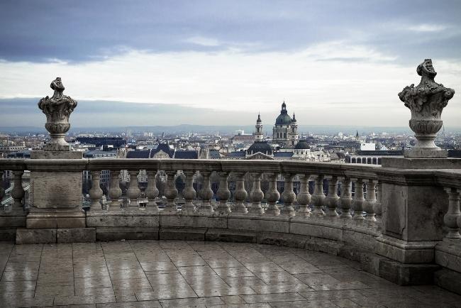 View to Szent Istvan