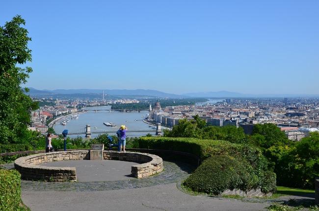 Gellert hill, Budapest