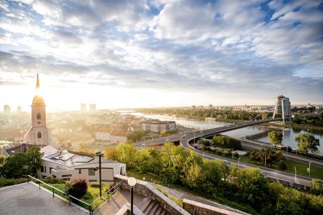 Bratislava: Europe's newest capital