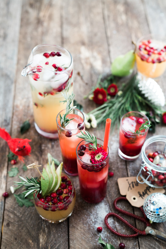 rosemary adds festive touch
