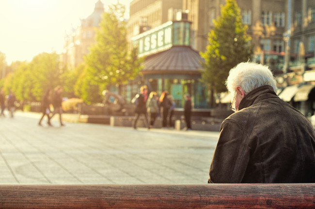 More than 1/3 of over-55s living beyond their means
