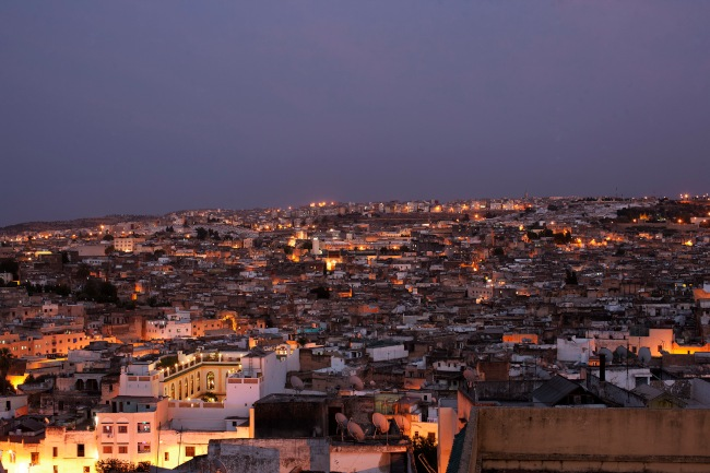 View across the medina