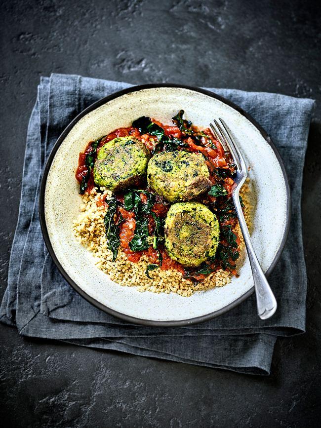 Falafel Tomato & Cavolo Nero