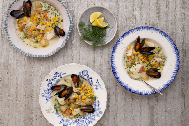 First-rate fish chowder