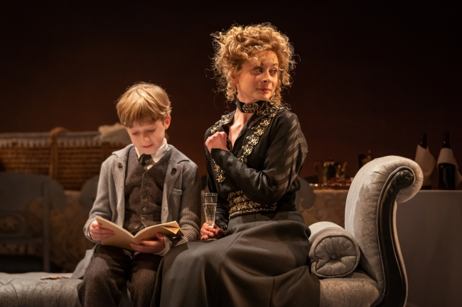 Ramsey Robertson (Young Jacob) and Faye Castelow (Gretl), Marc Brenner.jpg