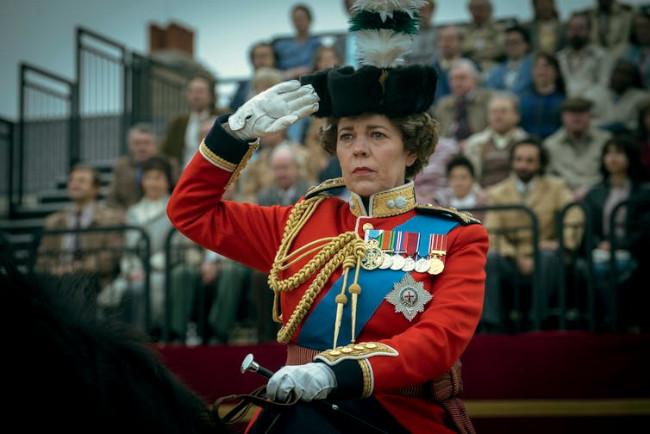 Olivia Colman as Elizabeth II